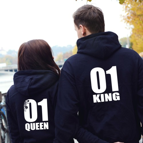 mikiny pro páry King&queen 6