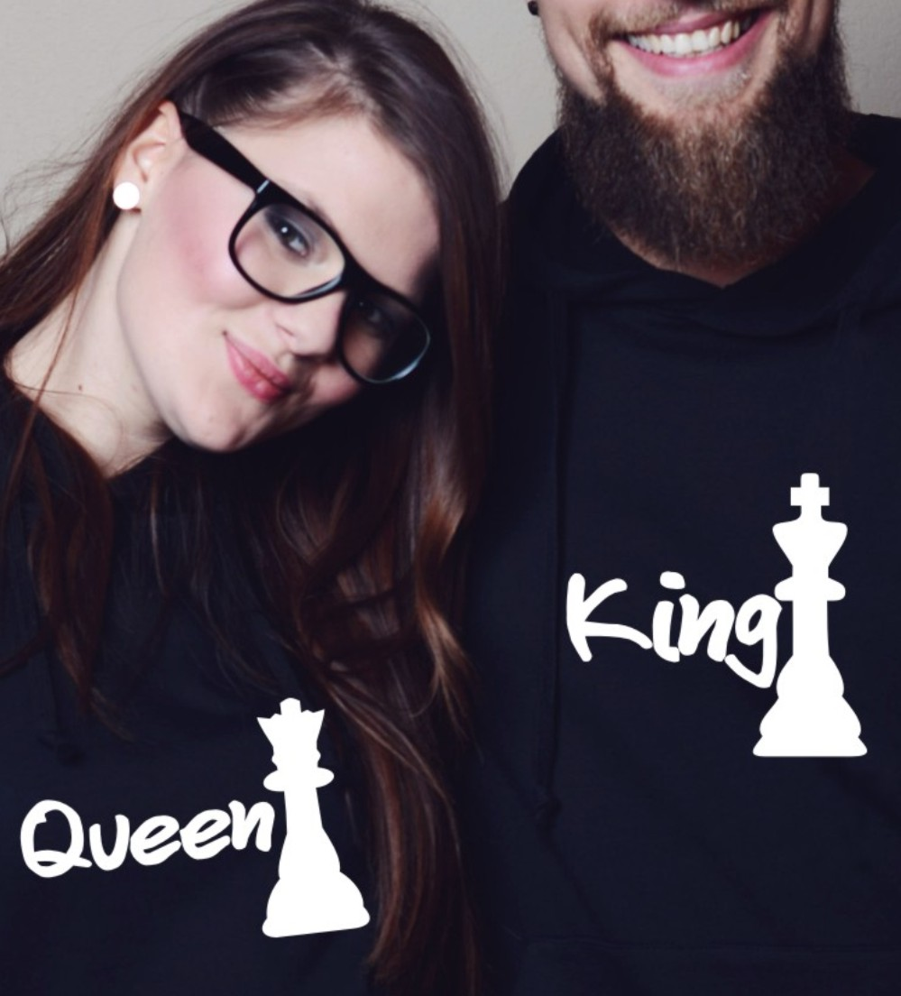 mikiny pro páry King&queen 2